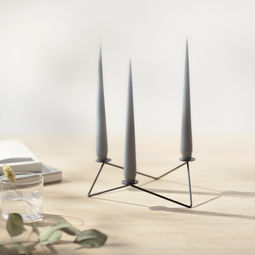 AVANI candle holder-Black by Beyond Object