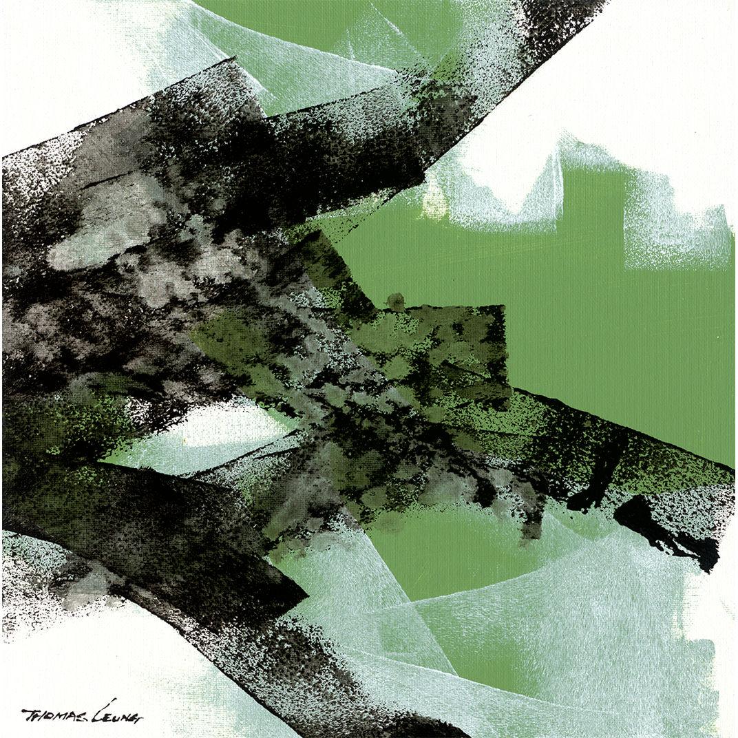 Abstract - Wave #6 by Thomas Leung