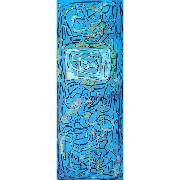 blueish flow by Nartana Thomas Holzweiler