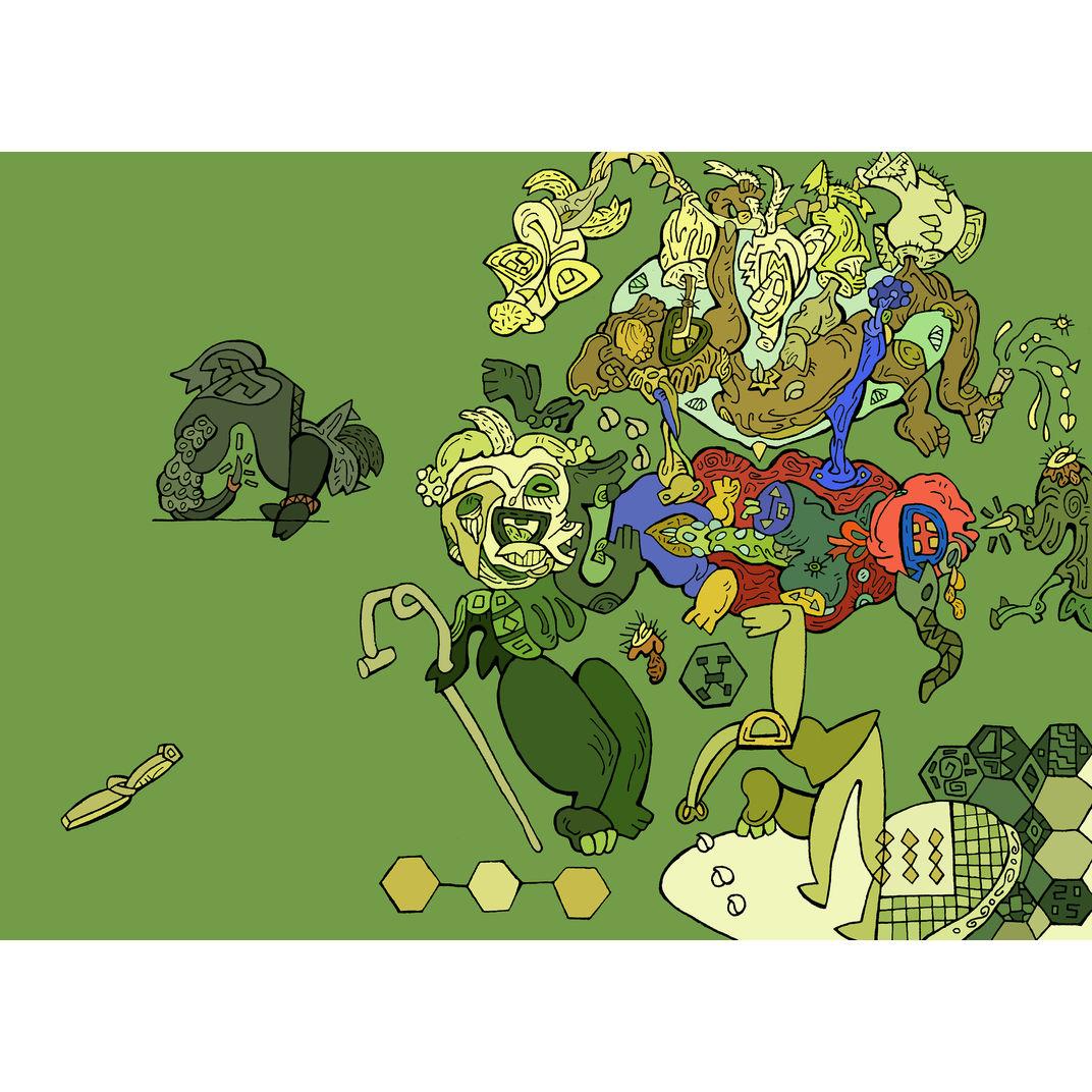 BAD TEMPER by Fang  Jingjing  方靖靖