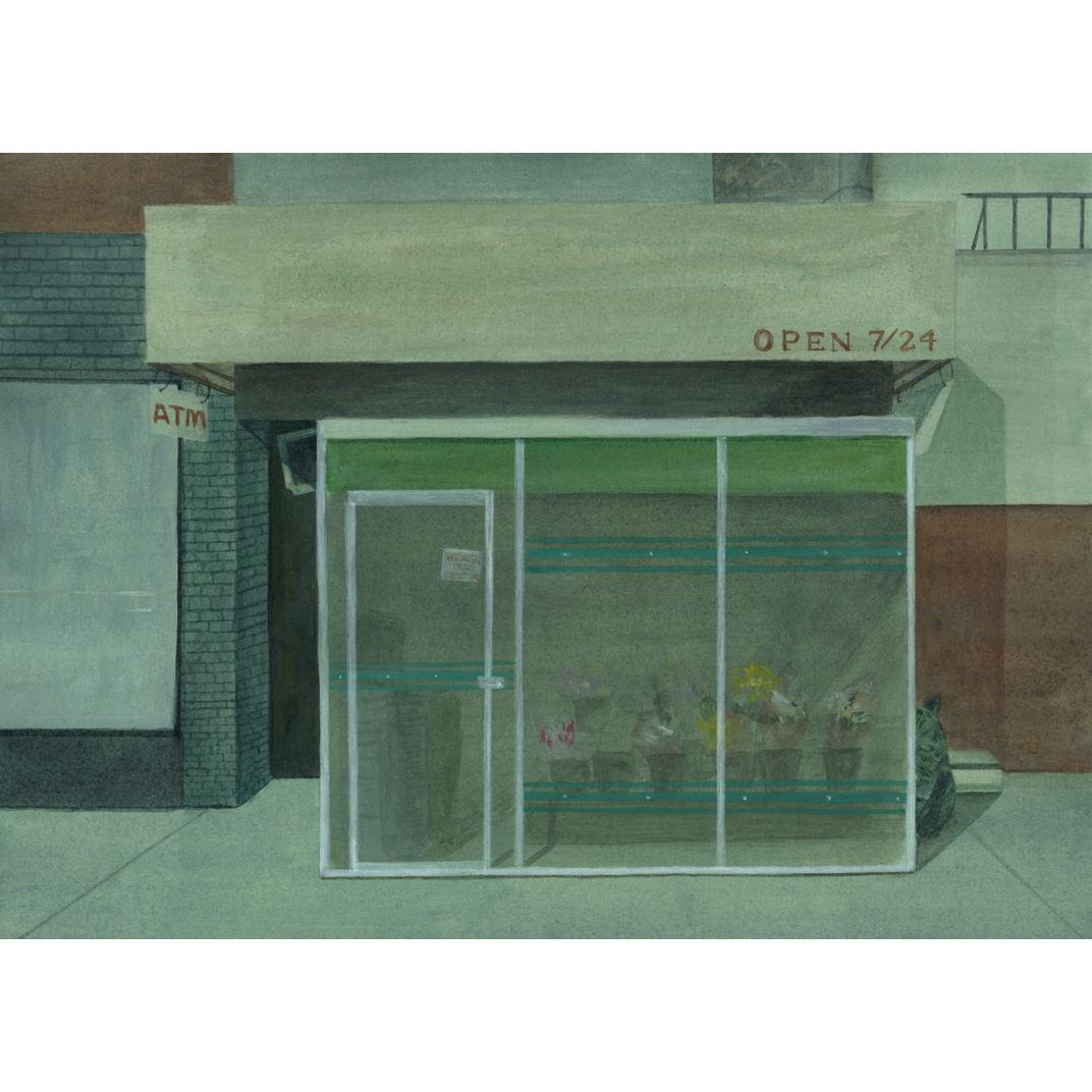 The Flower shop I by Yezi Lou