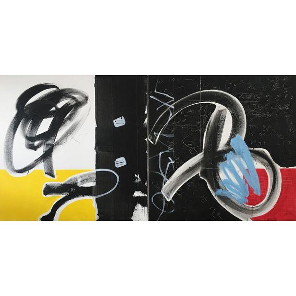 Diptych #5829 by Tim Fawcett