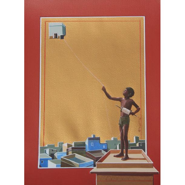 Urban Childhood 3 by Abhijit Paul