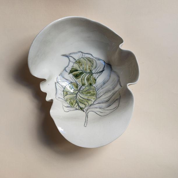 Rhododendron Primavera Bowl by Maryia Virshych