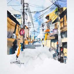 Japan Aerial Cable Series #4 by Eugene Ch'ng (庄以仁)