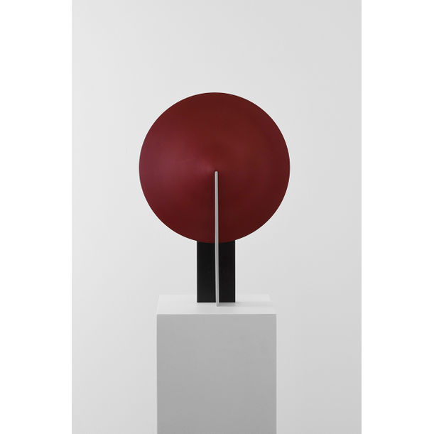 Orbe Table Lamp, Black & Red by Estudio Rain