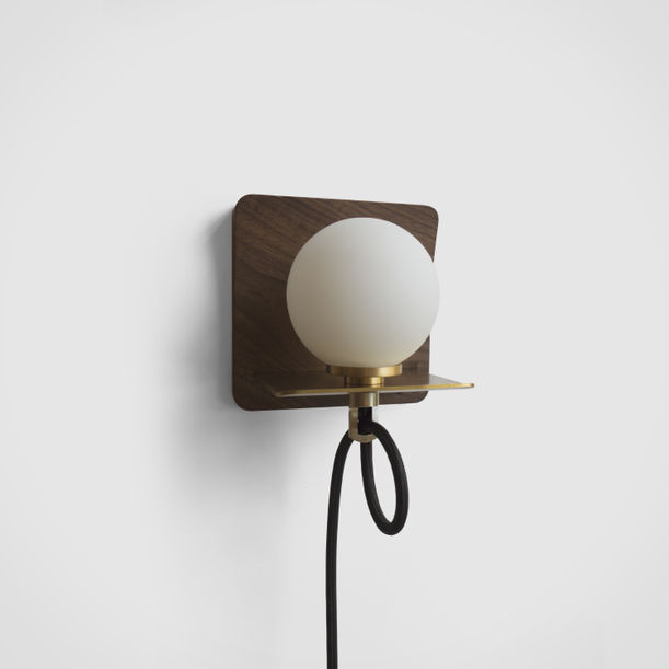 Post Wall Sconce by Noah & Grey