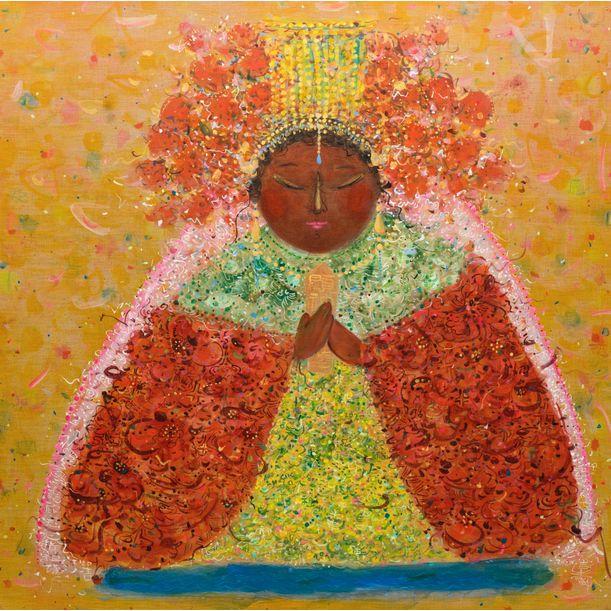 MAZU - Goddess of Epiphany by Ann Niu