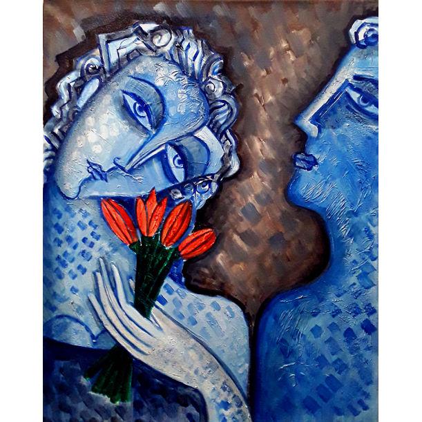 Blue Lovers by Van Hovak