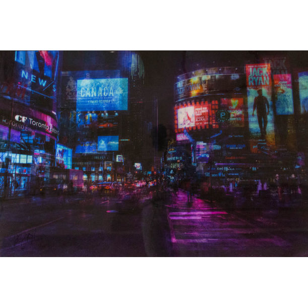 TORONTO,YUONGE-DUNDAS SQ by Tomoya