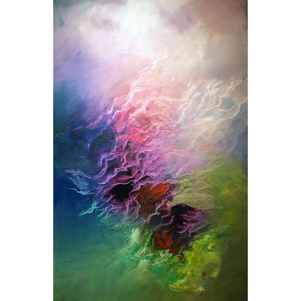 Pink Clouds by Ludmila Budanov