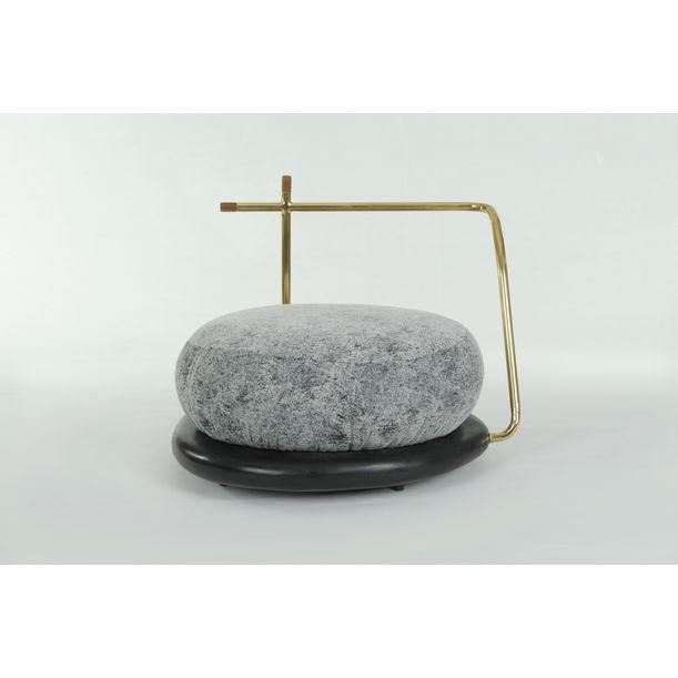 Zen Stone (Armchair) by Apiwat Chitapanya