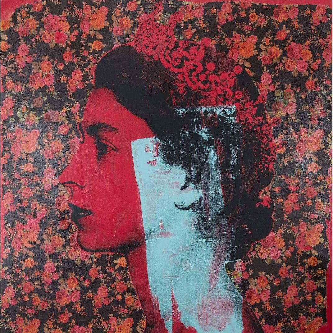 Queen Elizabeth II by Dane Shue