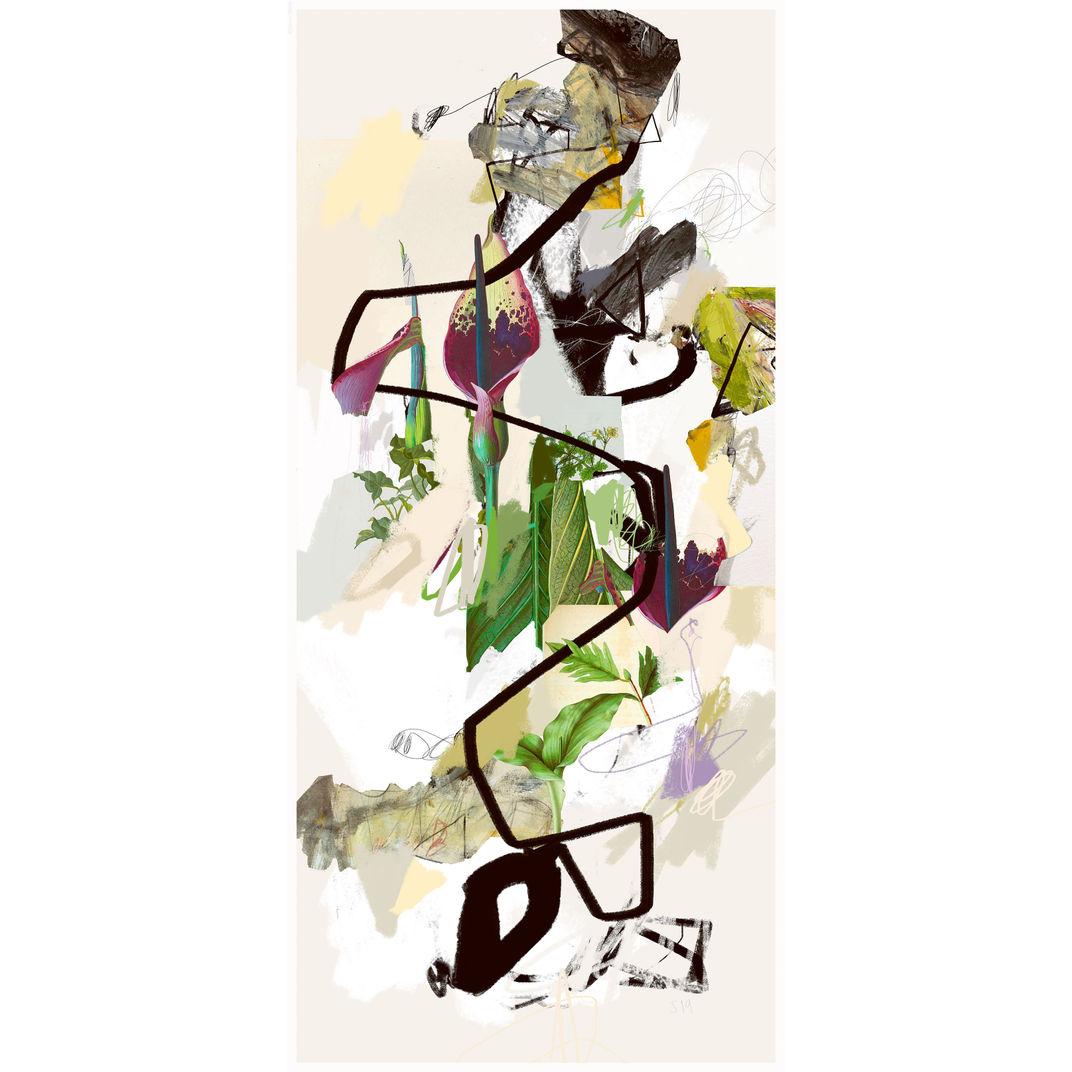 Vertical Garden 21-001 by Sander Steins