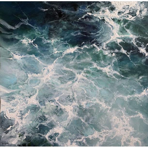 Ocean cubes I by Irina Laube