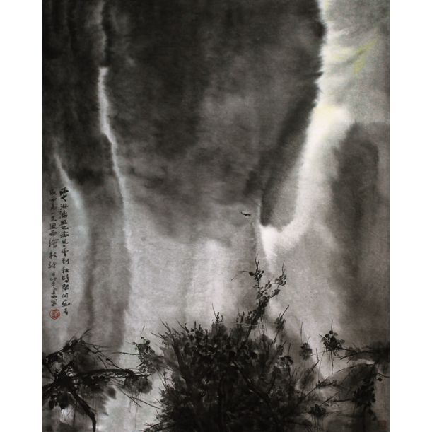 山雨 by Li Jian Gang