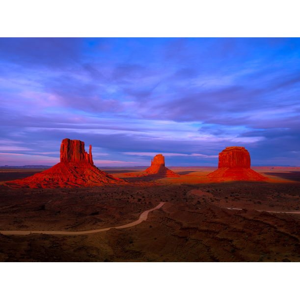 Monument Valley by Nick Psomiadis