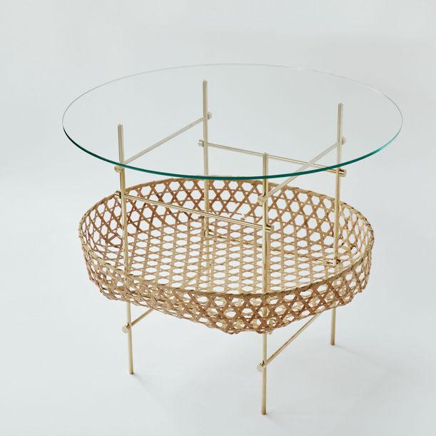 Bamboo Lattice Table by Ryosuke Harashima
