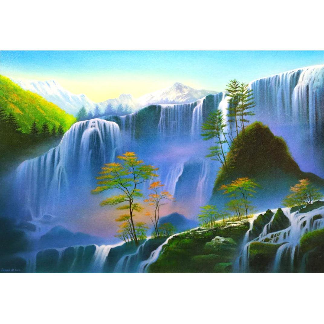 Mystical Falls by Richard Leung