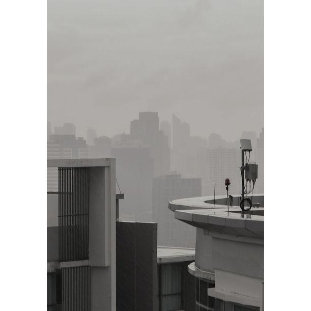 Rainday in Bangkok by Kira Gyngazova