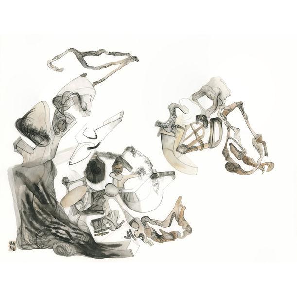 Ascetic by Fang  Jingjing  方靖靖