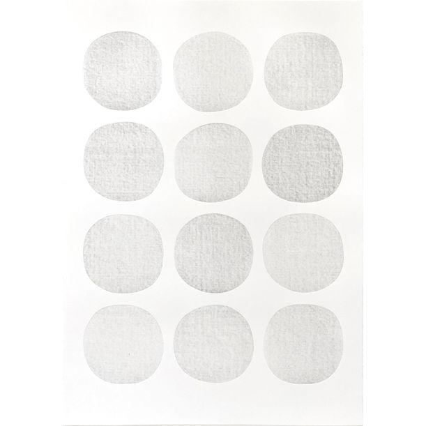 Irregular Circles / Light Grey by Lian Ng