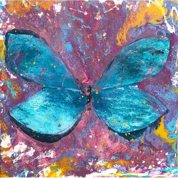 Butterfly effect by Elaine Yaw