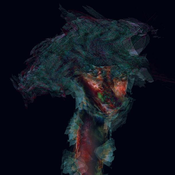 """PORTRAIT SERIES, FRANCHESCA I by Michael Jeffrey """"MJ""""  Suayan"""