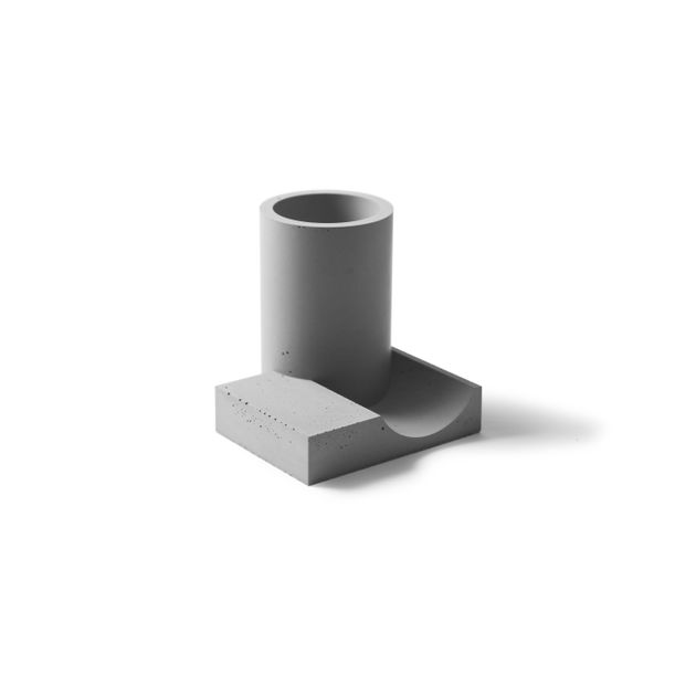 Merge Pen Holder (Gray) by 22 Design Studio