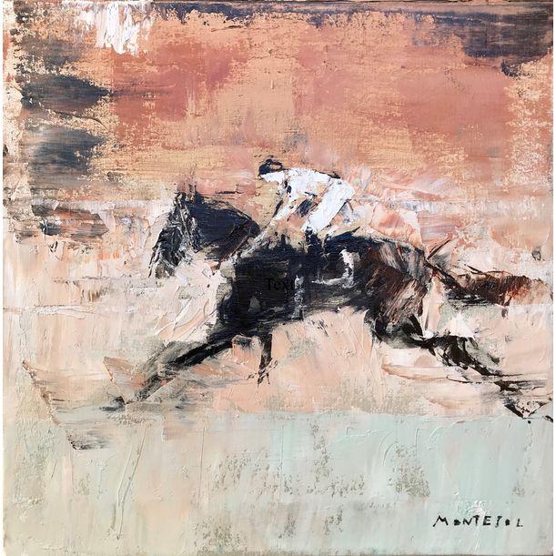 Secretariat The Horse I by Javier Montesol