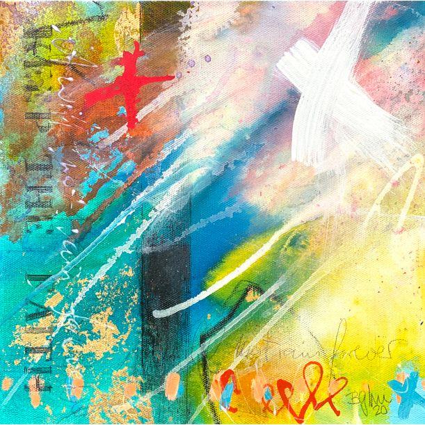 keep the faith X by Bea Garding Schubert