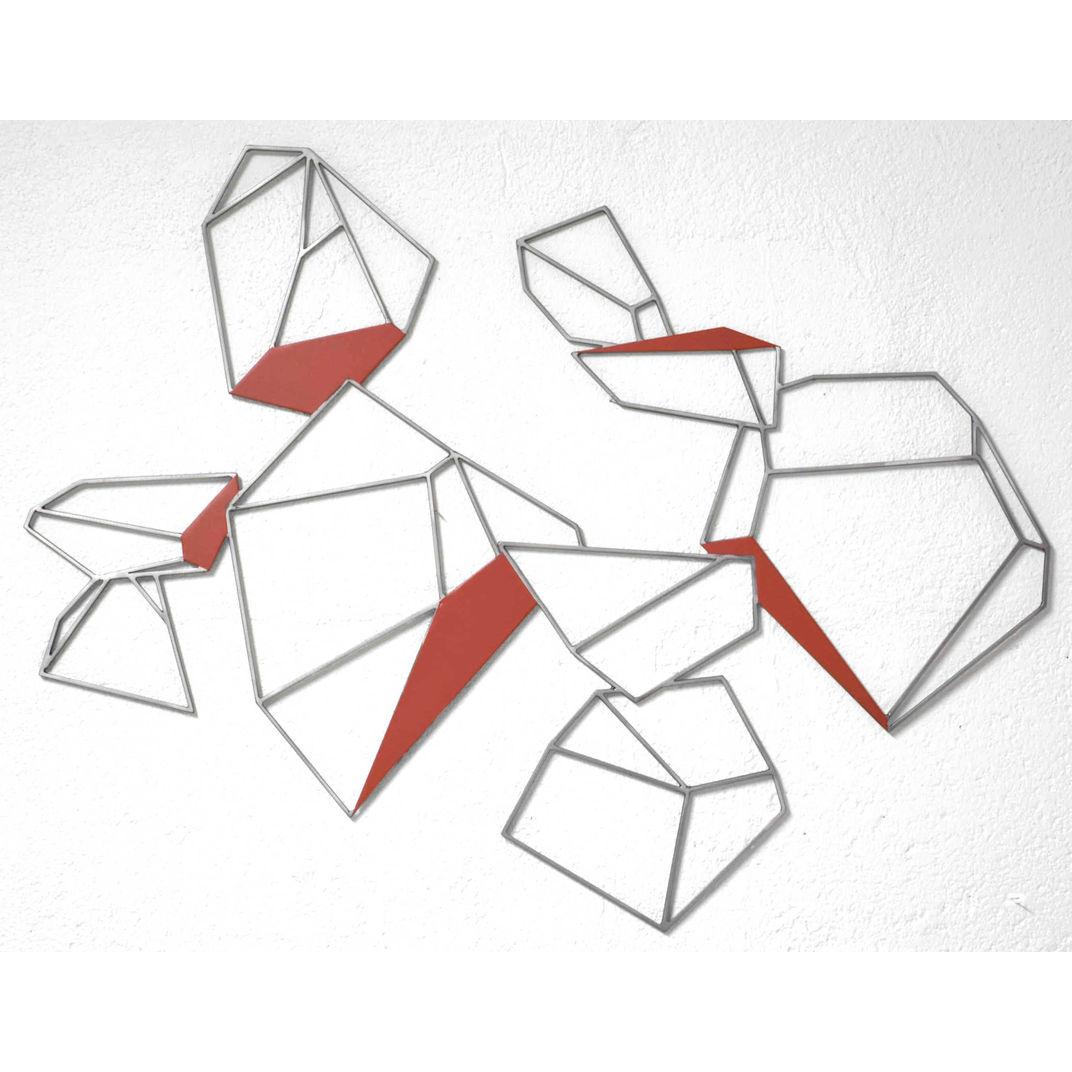 L'éclatement du cristal rouge by Yannick Bouillault