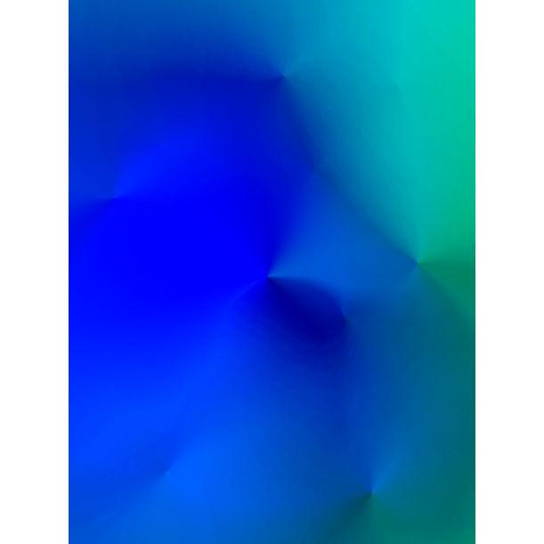 light perception#bluebluegreen by Fabian Albertini