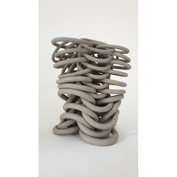Rhythm stoney grey by Cecil Kemperink