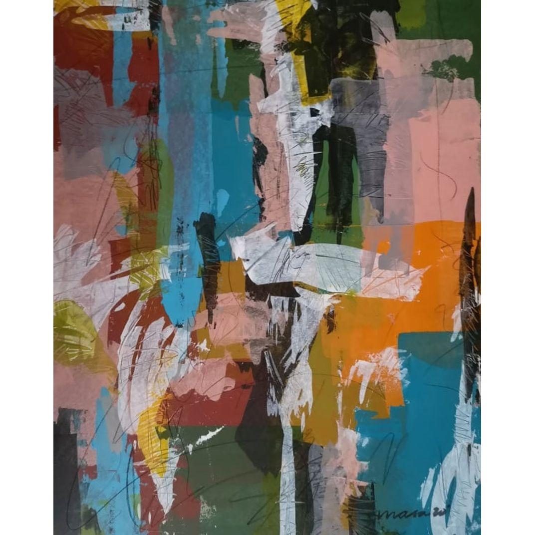 Striving Mind 5/11 by Mark Anton Masa