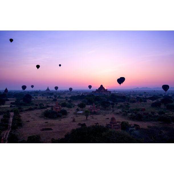 Sunrise in Bagan by Serge Horta