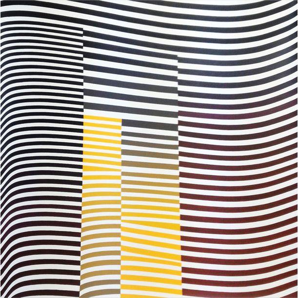 Layers 04 Orange by Cristina Ghetti