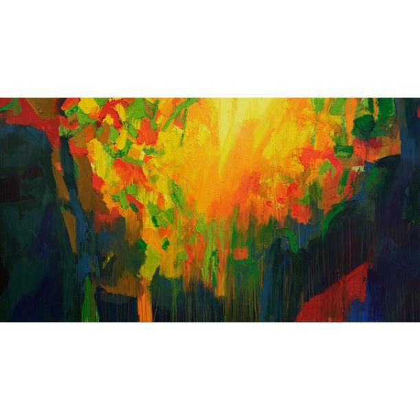Spring Depth II by Abhishek Kumar
