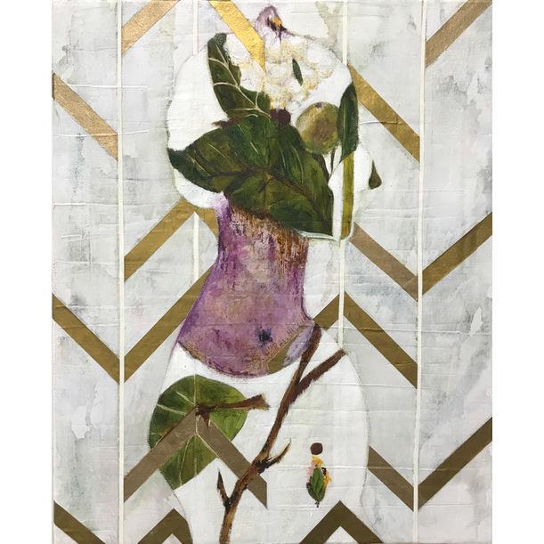 La dame blanche by Karenina Fabrizzi