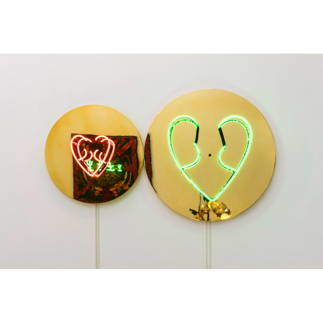 Heart (right) by Choi Jeong Hwa