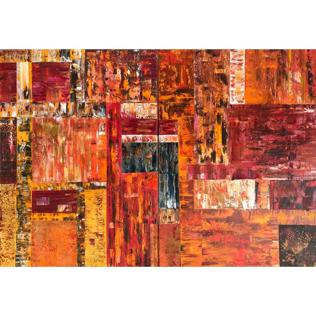 Ambiance. Diptych by Diana Malivani