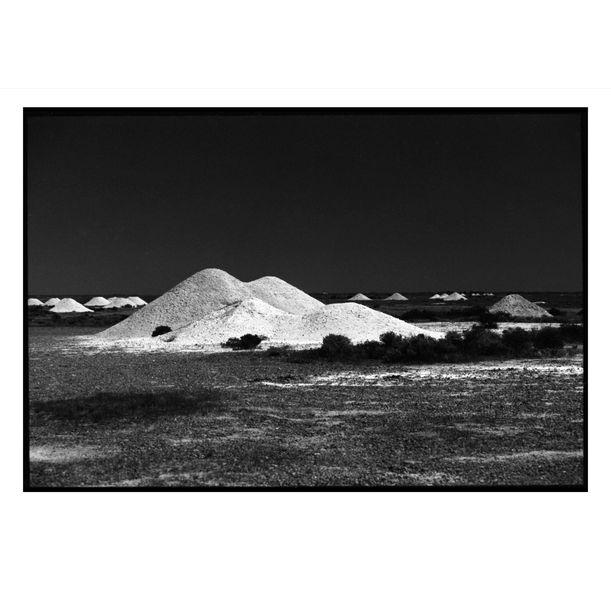 Coober Pedy Opal Mounds #1 by Damian Seagar