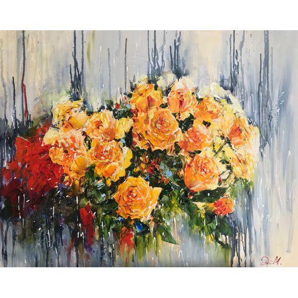 Tea Roses by Diana Malivani