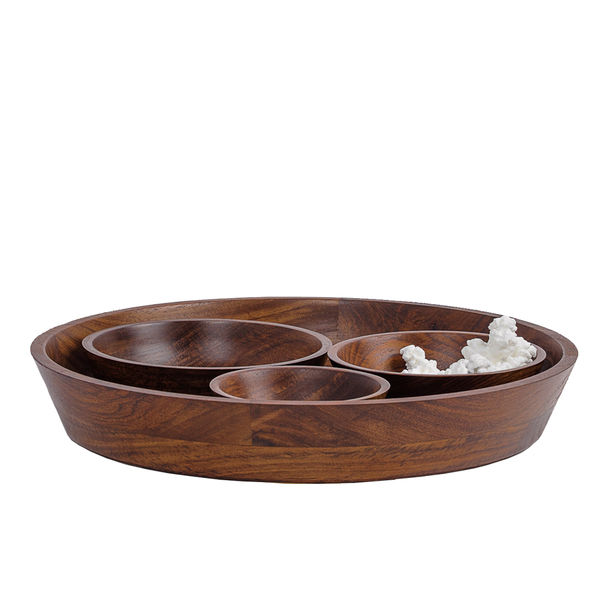 Seva - Wooden Bowls set by Tiipoi