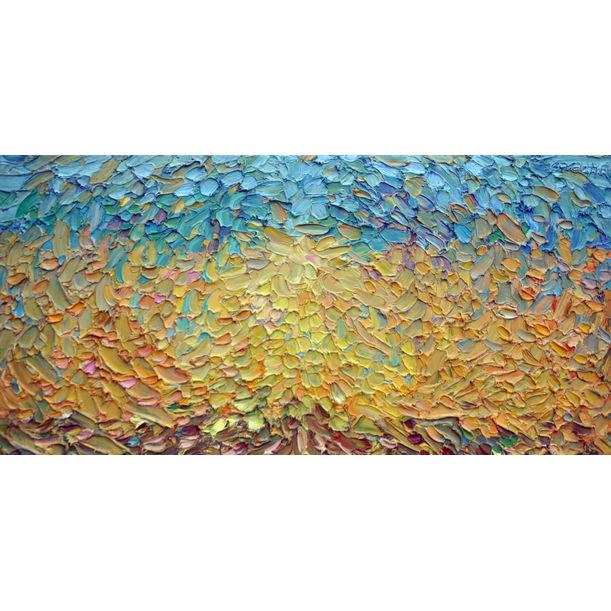 Golden ocean of wheat by Olga Bezhina