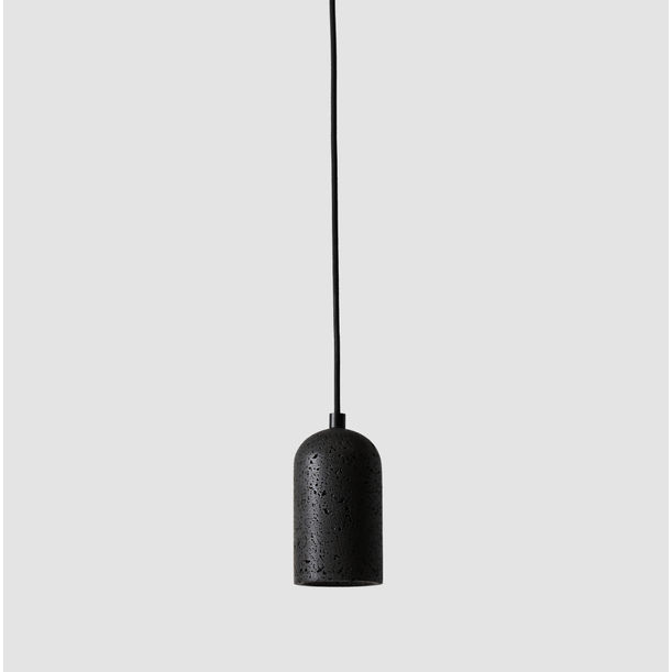 BUZAO - U - Lava Stone Pendant Light by Studio Buzao