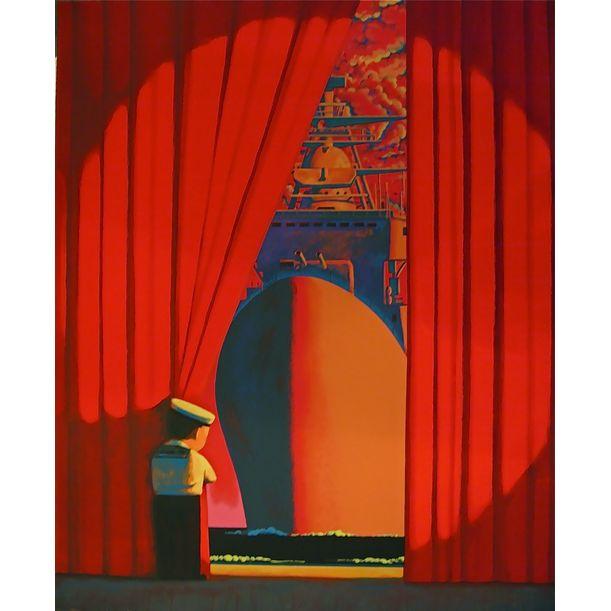 Red by Liu Ye