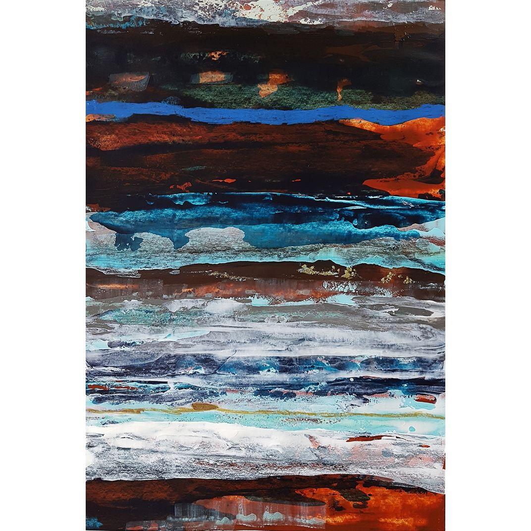 Strata landscape by Fabienne Monestier