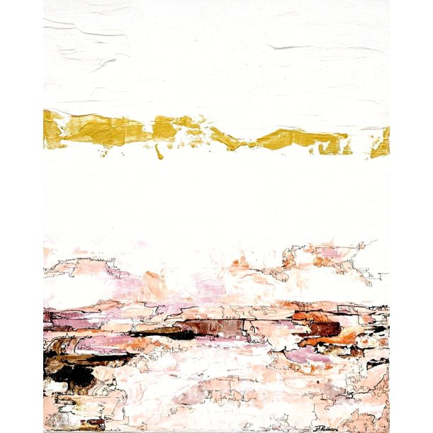 """Gold Middle"" by Aliya Rabbani"