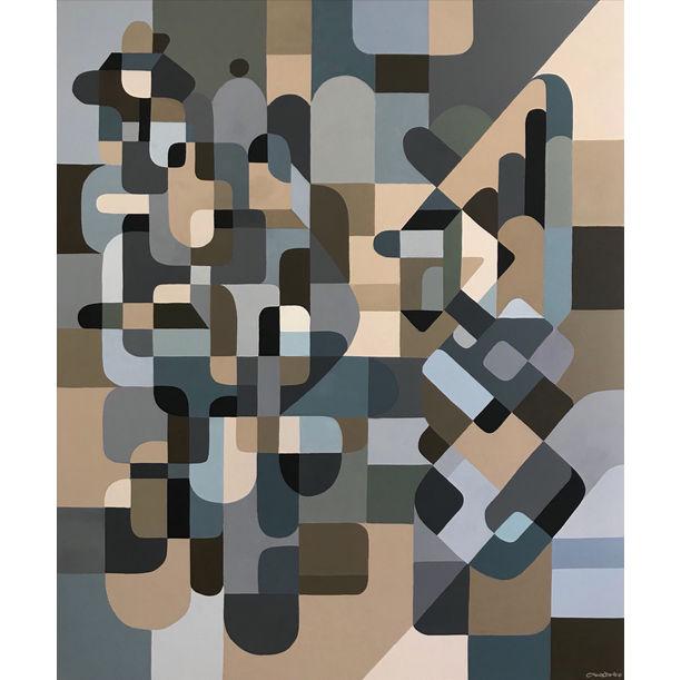 """Composition №15"", series ""Figurative speech"". by Evgeniy Tkachenko"